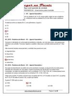 Exerc FGV MATEMATICA