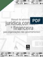 Abong_manual de Administração Jurídica, Contábil e Financeira Para