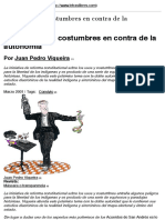 Viqueira, Juan Pedro - Los usos y las costumbres en contra de la autonomía
