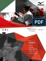 Mizuno Judo Italia // Catalogo 2016/2017