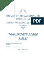 UNAM Transporte Sobre Rieles