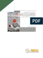 Manual RiAcquire Riegl