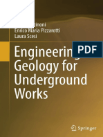 Engineering Geology for Underground Works [P. Gattinoni, E.M. Pizzarotti, L. Scesi, 2014] @Geo Pedia