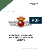 Actividades EdA 2016