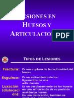 Lesiones Hueso y Articulaciones
