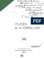 Celajes de La Cordillera. 1915. Salvador R. Merlos