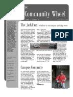 Community Wheel Magazine, Spring 2005