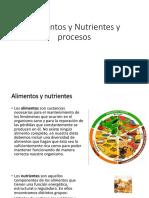 Alimentos Nutrientes y Sistemas