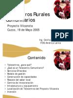 Telecentros Rurales