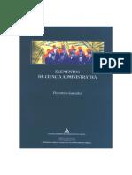Elementos de Ciencia Administrativa (Florentino González)