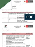 SESION DE APRENDIZAJE N° 01 - ARTE 2° secundaria