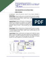 Memoria Estructuras Institución Educativa