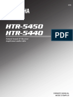 Yamaha HTR545 Stereo Manual.PDF