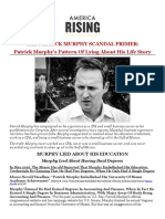 The Patrick Murphy Scandal Primer
