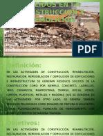 Gestion de Residuos Solidos en La Construccion y