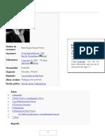 Paulo Freire Biografía Extensa
