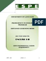 Ingles I-II Study Guide