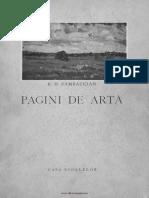 Zambaccian Krikor Pagini de Artă 1943