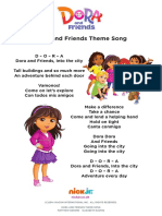 Dora and Friends Theme Song