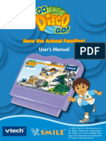 80-092900 - V.smile Go Diego Go Save the Animal Families