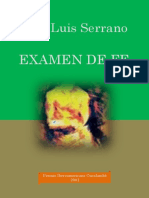 Examen de Fe