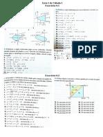 Lista 1 de Cálculo 2