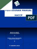 Penyusunan Manual HACCP
