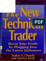 The New Technical Trader - Chande & Kroll