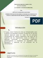 Diapositiva de Practicas -II AGUA