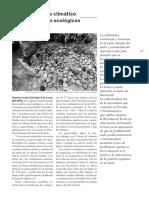 Cambio Climatico y Cultivos Ecologicos