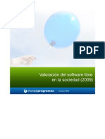 Estudio Valoracion Software Libre