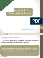 Gerenciamento e Fiscalização de Obras