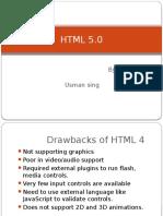 HTML 5 by Usmansing