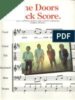 Doors, The - Rock Score (Band Songbook)