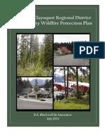 Alberni-Clayoquot Regional District Community Wildfire Protection Plan