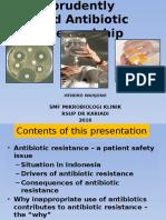 Using Antibiotics Prudently 123
