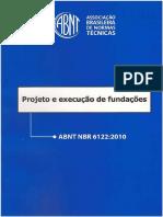 ABNT 6122 - Projeto e Execução de Fundações_2010