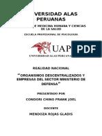 ORGANISMOS DESCENTRALIZADOS Y EMPRESAS DEL SECTOR MINISTERIO DE DEFENSA.docx