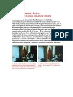 La Praxis de Realismo Andino, El Flasback y El Plano Secuencia Integral