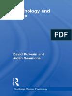 Psychology and Crime - David Putwain