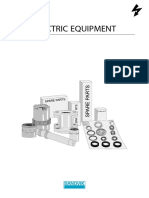 Sistema electrico DX800 sandvik