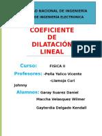 Labo Dilataciion Lineal