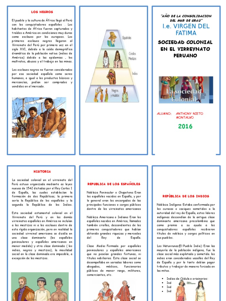 TRIPTICO SOCIEDAD COLONIAL EN EL VIRREYNATO.docx