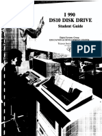 DS10 Disk Drive Student Guide 1979