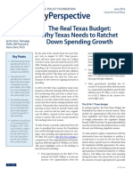 The Real Texas Budget 2016