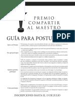 Guia Premio Compartir Carta