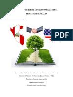 Tlc Peru - e.e.u.u -Tema Ambiental