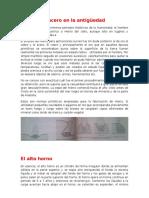 Manufactura Del Acero