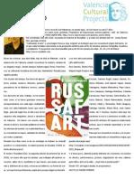 Russafart 2010. Artículo de Valencia Cultural Projects