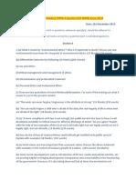 Gs Paper 4 Ias Mains Exam 2015